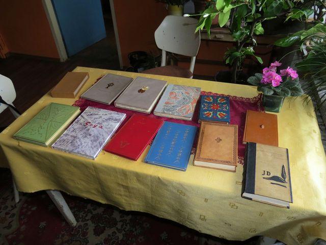 galerie knihařských skvostů vázaných v kůži