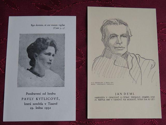 v knize byly založené obrázky Pavly Kytlicové, spolupracovnice Jakuba Demla a Jana Demla, dědečka básníkova