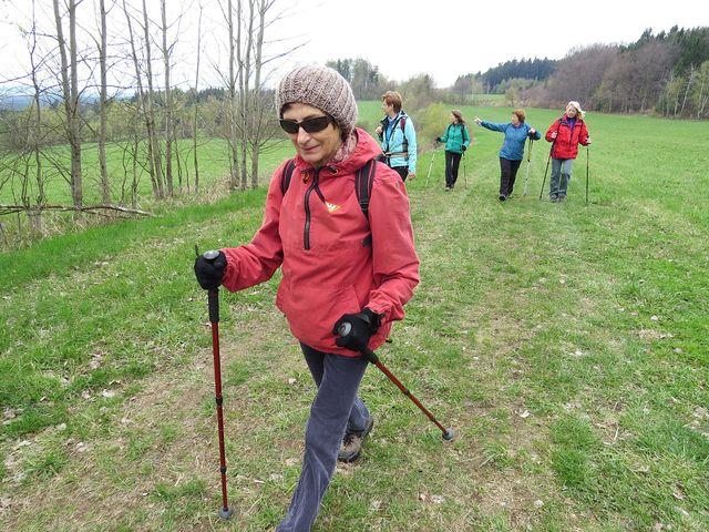 výhledová trasa na hřebeni Arnoleckých hor