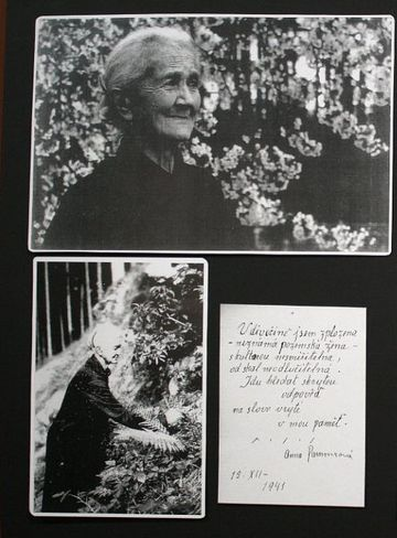 Anna Pammrová, fotogalerie Společnosti A. Pammrové