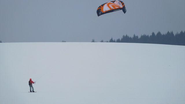 s větrem o závod; foto B. Mareš