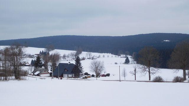 typická krajina v okolí Nového Města na Moravě; foto B. Mareš