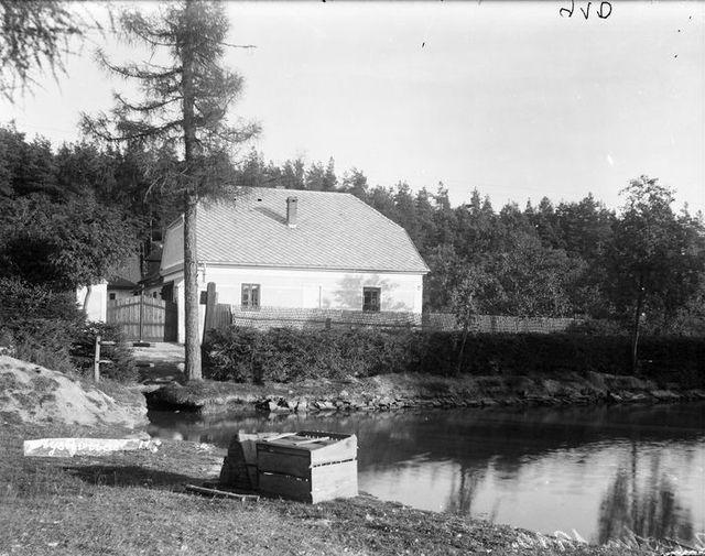 hájenka u Jinošova, kde v mládí žila Anna Pammrová; foto O. Knoll z Náměšti n/Osl.