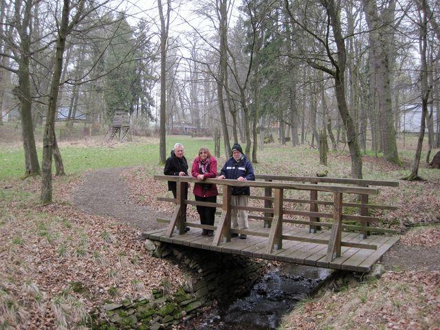 dychtiví poutníci v Schönwaldu