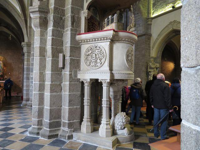 v roce 2003 byla bazilika spolu s židovským městem zapsána pod ochranu světového dědictví UNESCO