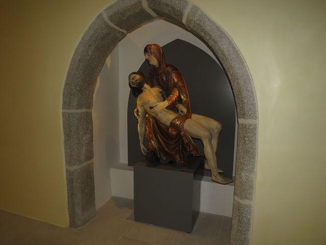 muzejní expozice má čtyři oddělení podle témat