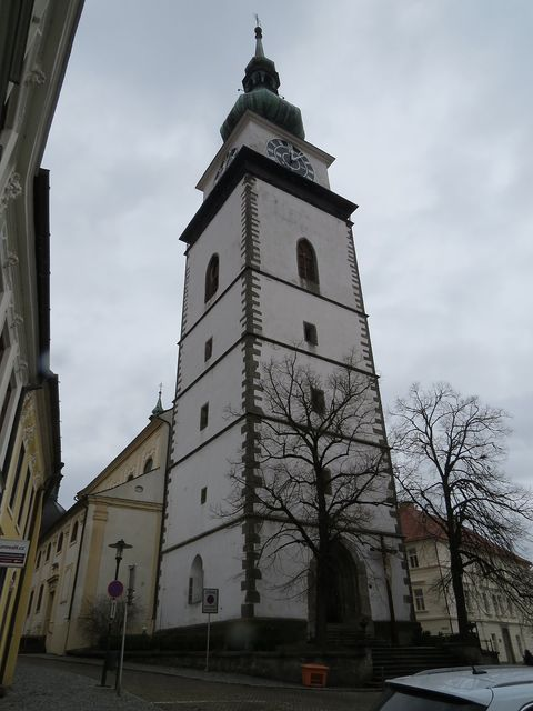 městská věž u kostela sv. Martina