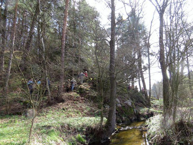 vycházka kolem Klapovského potoka