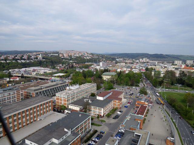 v centru Zlína byly nedávno dokončeny úpravy