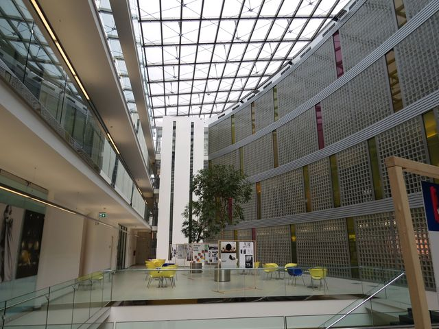 interiér Univerzity Tomáše Bati