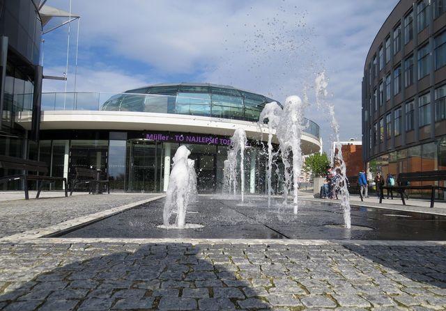 náměstí TGM ve Zlíně