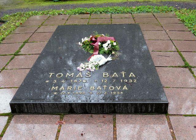 Tomáš Baťa - Lesní hřbitov ve Zlíně
