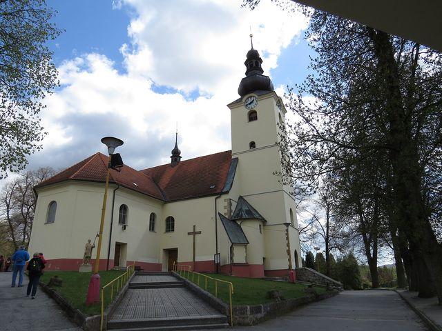 kostel sv. Václava v Brumově