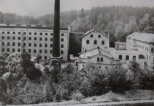 helenínský tovární areál v období před 1. světovou válkou