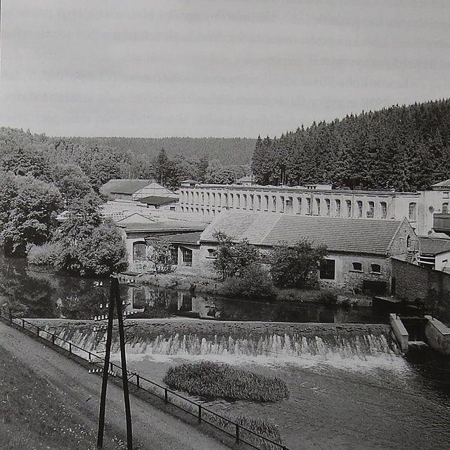 Löwova továrna v Malém Beranově