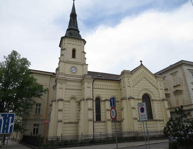 kostel Pavla Sperata