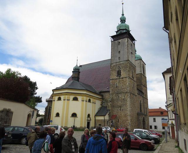 zastávka u kostela sv. Jakuba Většího