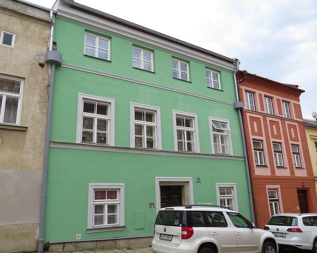 Joštova ulice č. 19 - zde býval fotoateliér Stäger