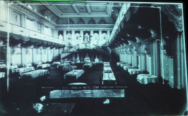 interiér hotelu Czap