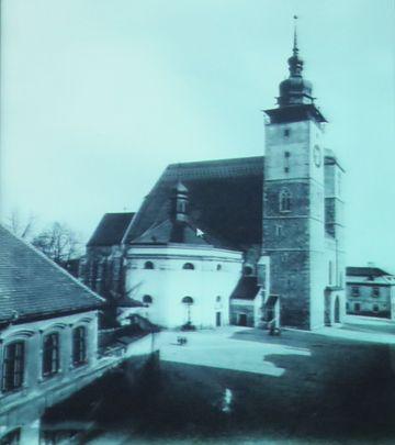 dřívější podoba kostela sv. Jakuba