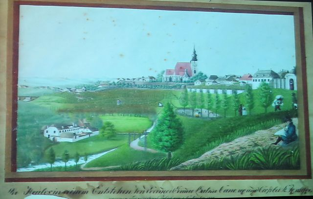tak namaloval Heulos farář Evermond Batka (sedí vpravo)