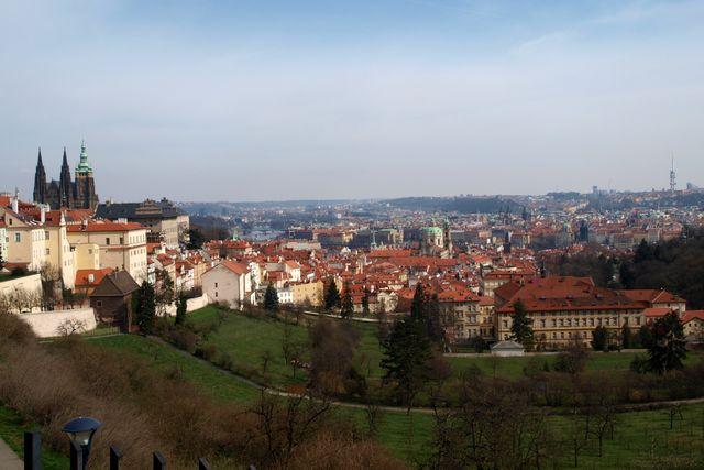 výhled z Petřína; foto L. Žáková