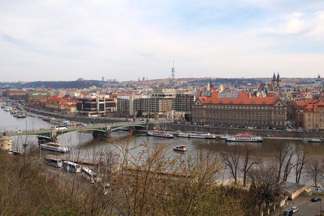 Praha z Letné; foto L. Žáková