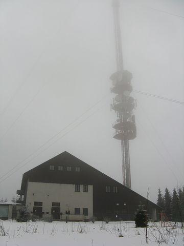 nejvyšší hora Českomoravské vrchoviny nám dala najevo svou vůli; foto M. Bradová