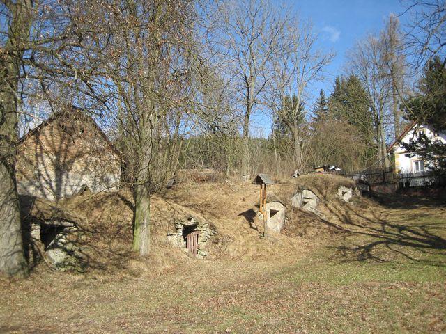 historické lochy ve Věžničce