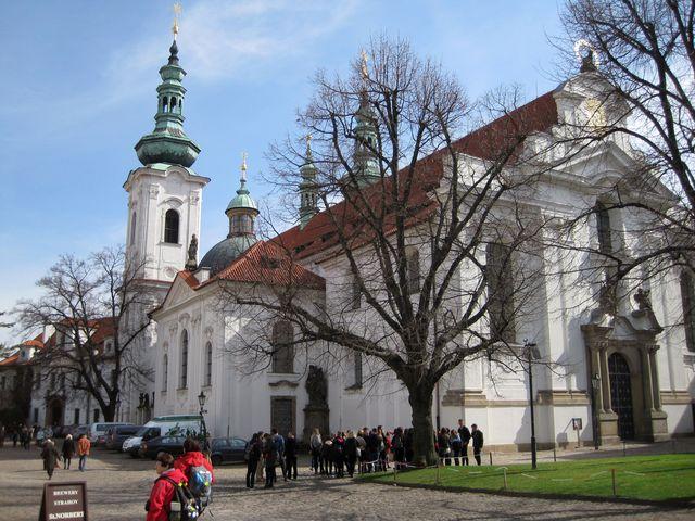 klášterní bazilika Nanebevzetí Panny Marie na Strahově