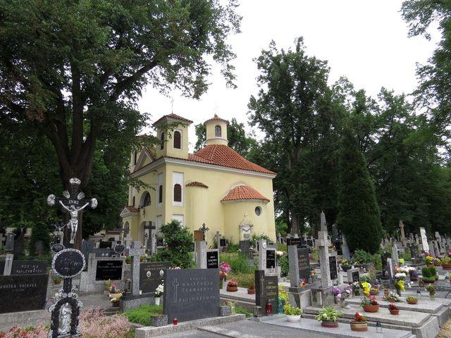 hřbitov v Týně nad Vltavou