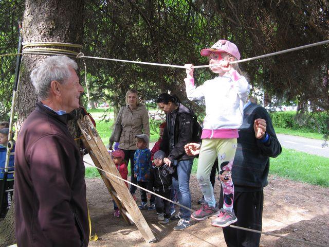 pohádkové odpoledne si spolu s dětmi užívali i pořadatelé; foto M. Bradová