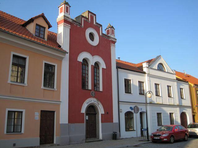 muzeum sídlí v bývalé synagoze