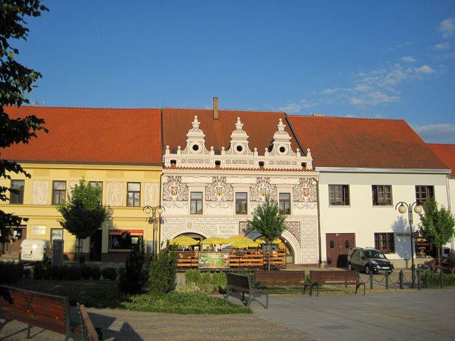 restaurace Protivínka na náměstí