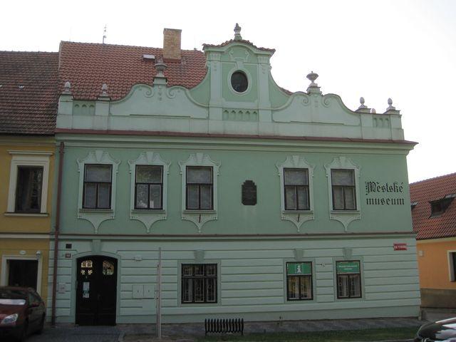 hned vedle je Městské muzeum