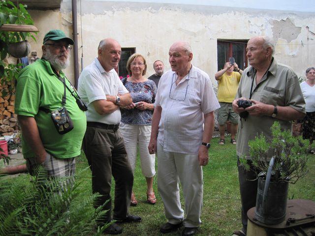 výklad Ing. Havelky o rekonstrukci bašt v Bechyni byl nesmírně zajímavý