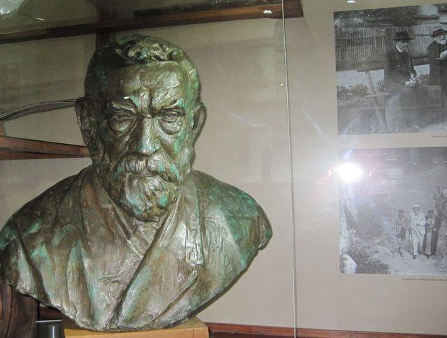 velký prostor je v muzeu věnován vynálezci Františku Křižíkovi