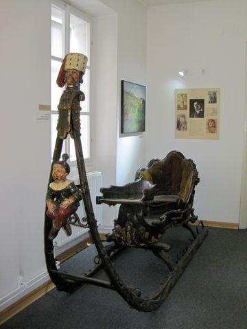 jeden z krásně zachovalých muzejních exponátů