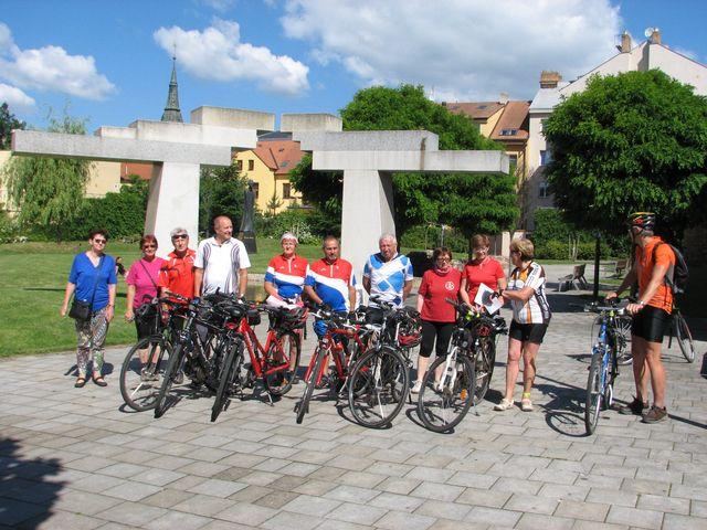 s účastníky z Havlíčkova Brodu; foto F. Janeček
