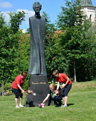 uctění památky Gustava Mahlera; foto Jan Černo