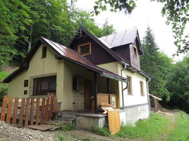Mederlyho chata - samota téměř na vrcholu Malino Brda
