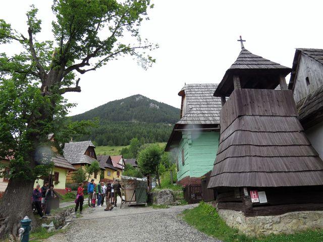 historická zvonice ve Vlkolínci