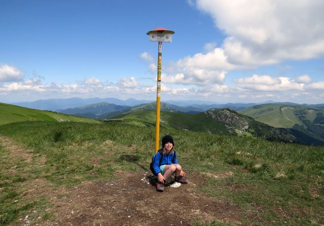 nejvyšší hora Velké Fatry je Ostredok (1 596 m)