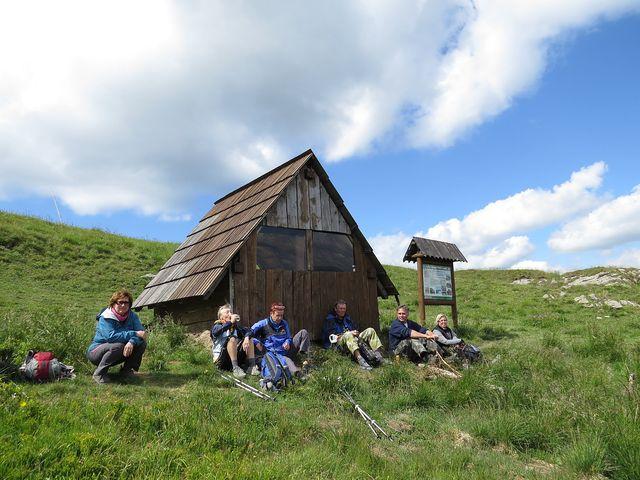 sedlo pod Ploskou (1 390 m)