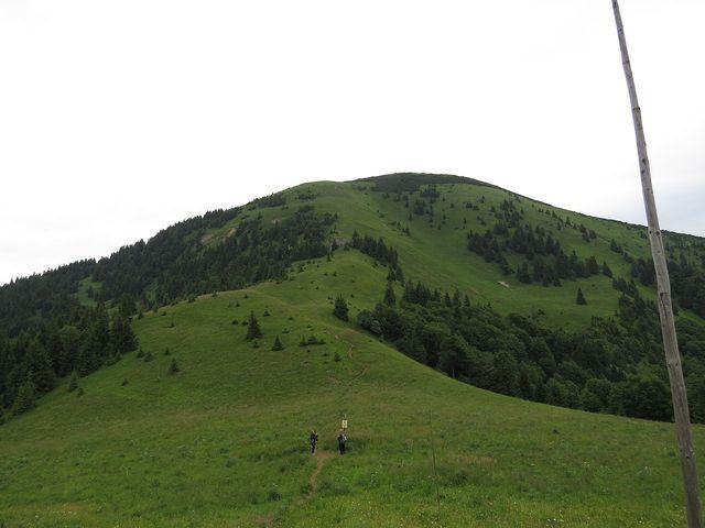 jižní sedlo Rakytova (1 295 m)