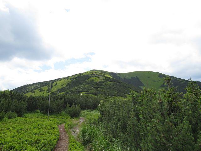 výstup na Košarisko (1 695 m)