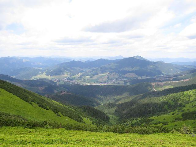 dolina s Liptovskou Lužnou