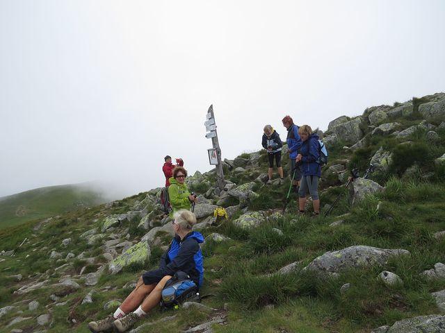 vrchol Chabence (1 955 m) - počasí se lepší