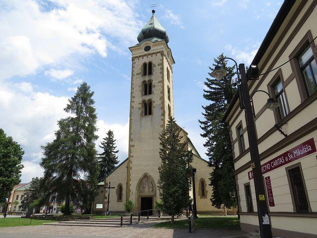 kostel sv. Mikuláše v Liptovském Mikuláši