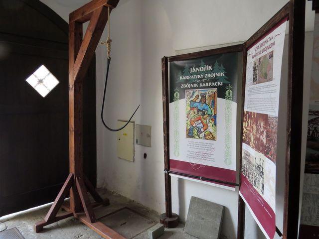 muzeum, kde se zájemci dozvědí o životě nejslavnějšího zbojníka, a také o jeho smrti